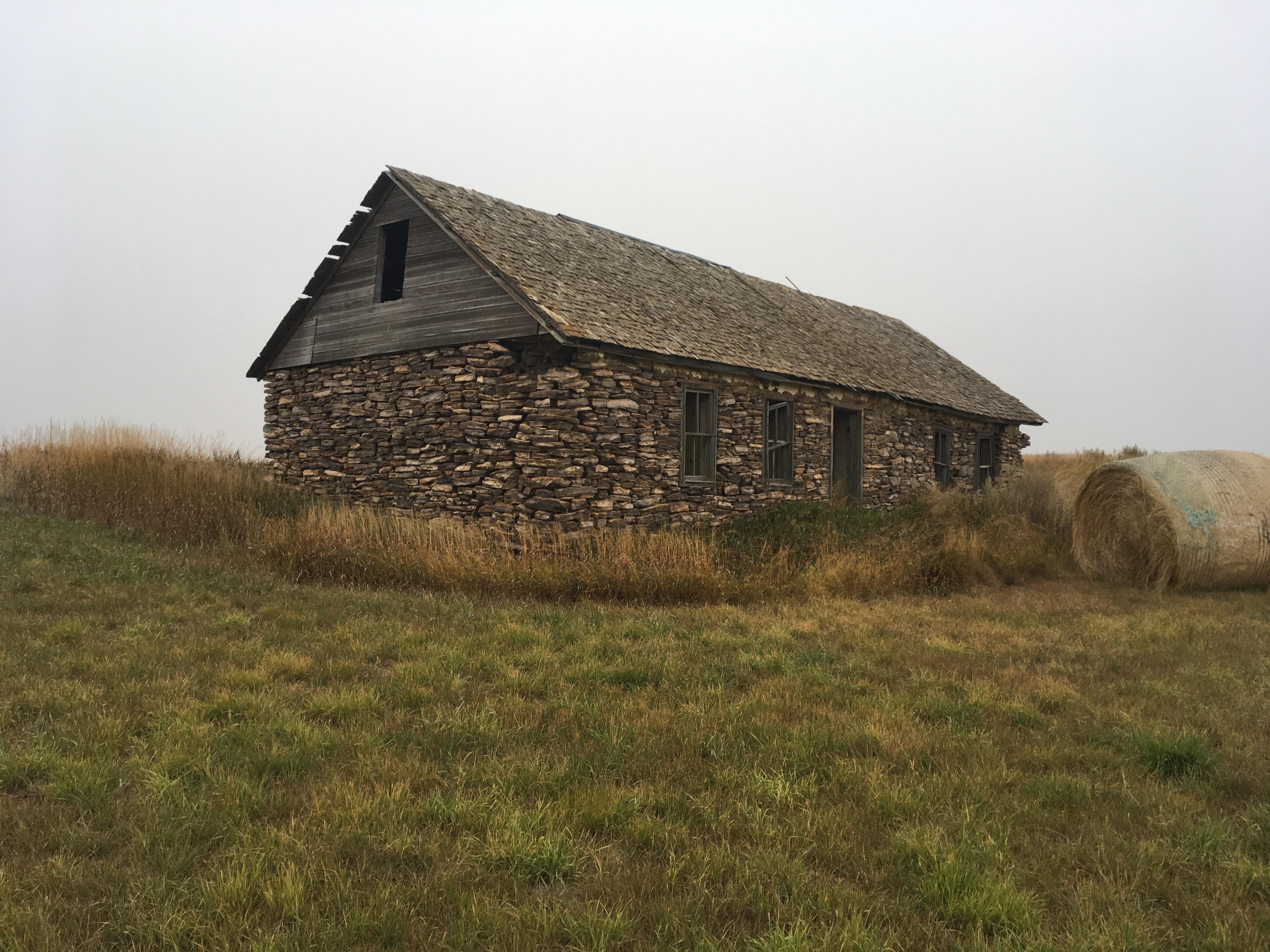 Fieldstone house